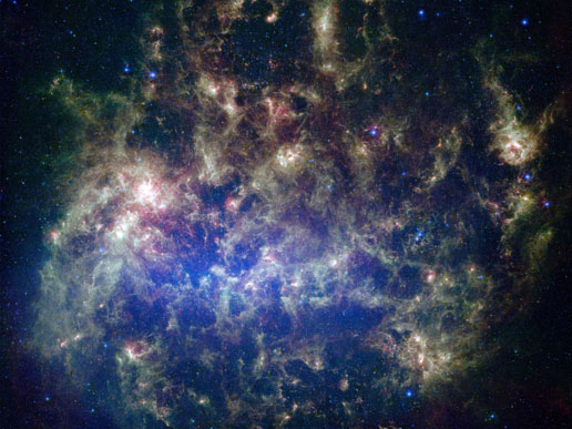 Large Magellanic Cloud. Image credit: NASA