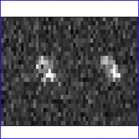 Radar Image of Asteroid 2007 TU24.  Image credit: NASA/JPL-Caltech