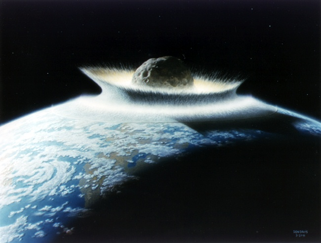 Asteroid Impact.  Image Credit: University of California Observatories