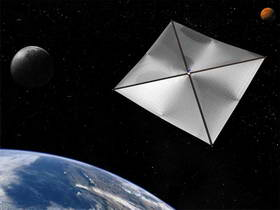 Solar Sail.  Image Credit:  NASA