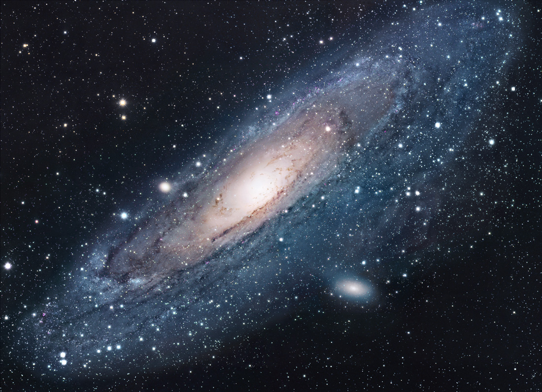 Andromeda Galaxy. Image Credit: NASA