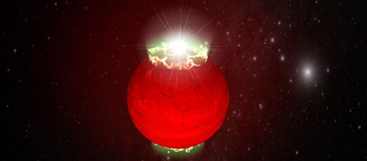 An artist impression of a brown dwarf (Hallinan et al., NRAO/AUI/NSF)