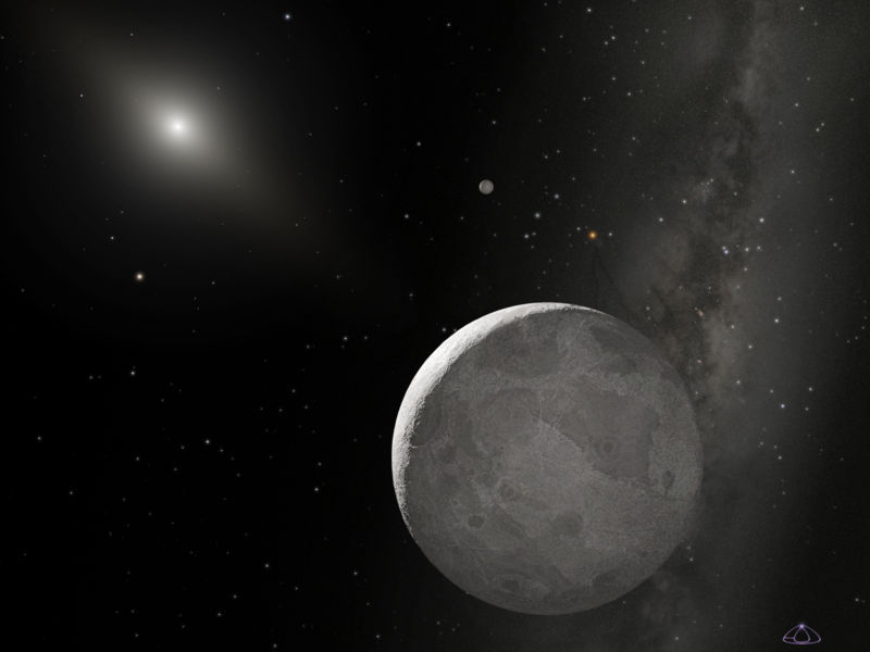 Before an object larger than pluto was discovered in the kuiper belt