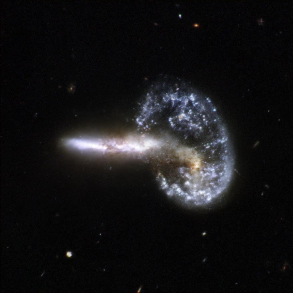 hubble telescope galaxies colliding - photo #2
