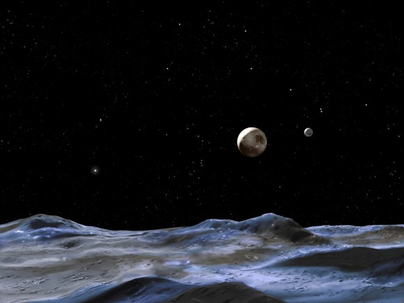 Pluto's Distance from the Sun