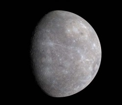 Color image of Mercury. Image credit: NASA