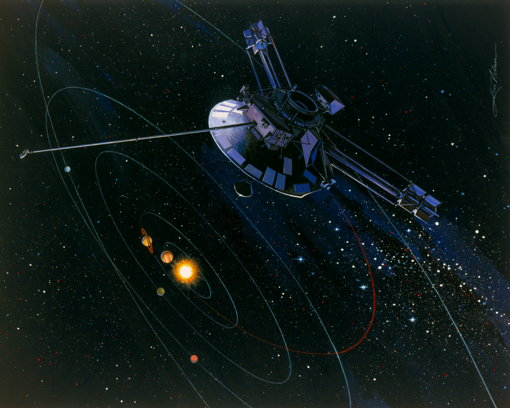 pioneer 6 spacecraft - photo #29
