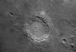 Crater Copernicus by Wes Higgins