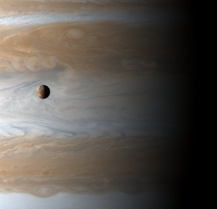 Jupiter and moon Io (NASA)