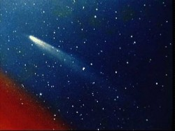Comets - where does their dust come from?