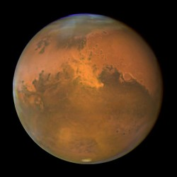 Mars, just a normal planet. No mystery here... (NASA/Hubble)