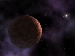 Large bodies are known to exist beyond the orbit of Pluto, like Sedna (NASA)