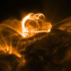 Powerful solar flares can cause charge build-up on satellites (NASA)