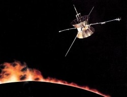 The Helios solar mission (Deep Space Network)