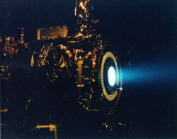 Ion engine test (NASA)