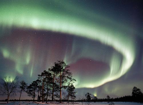 Northern Lights.  Credit:  NASA