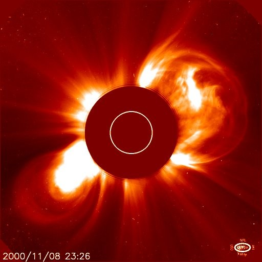 The Sun as viewed by the Solar and Heliospheric Observatory (NASA/SOHO)
