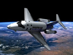 Rocketplane XP spaceplane.  Credit:  Rocketplane