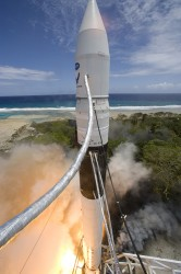 Falcon 1 Launch attempt in 2007 (SpaceX)
