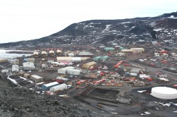 McMurdo Station. Photo credit: L. McFadden, 2008