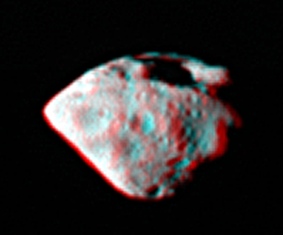 Steins in 3 D.  Credit:  ESA