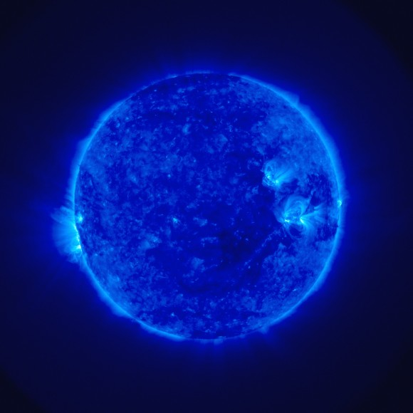 STEREO\&#039;s image of the Sun. Image credit: NASA