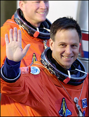 Astronaut Ilan Ramon departs for his flight aboard Columbia. Credit: Chris OMeara/Associated Press