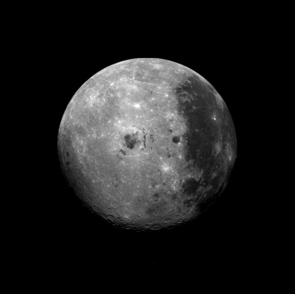 Far Side of the Moon. Image credit: NASA