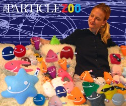 Julie spends some quality time with her Standard Model particles (The Particle Zoo)