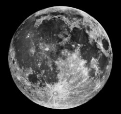 NASA&#039;s image of the Moon