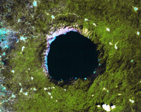 Bosumtwi Crater.  