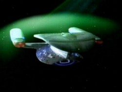 The USS Enterprise has many uses for its deflector shields, including repelling the Borg (Paramount Pictures)