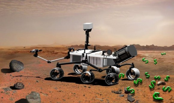 Haemorrhaging the NASA budget? Stern cites the MSL as a prime example of damaging overspending (NASA)
