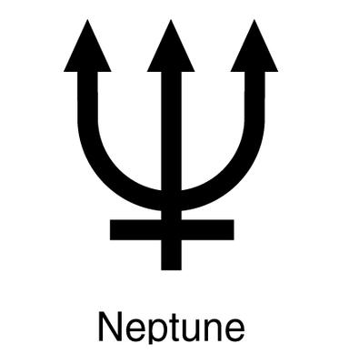 Symbol for Neptune
