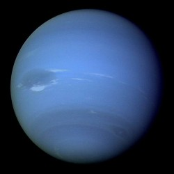 Neptune from Voyager 2. Image credit: NASA/JPL