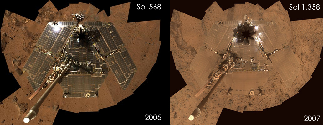 Despite Dust Storms Solar Power Is Best For Mars Colonies
