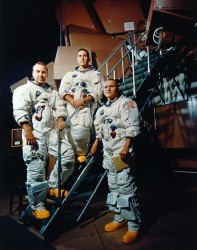 Apollo 8 crew.  Credit: NASA