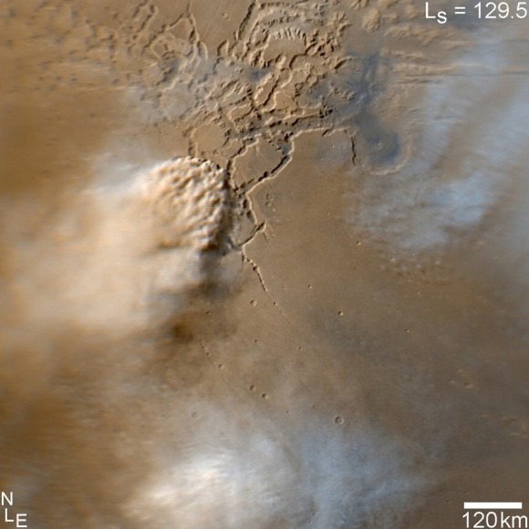 Mars Staubsturm