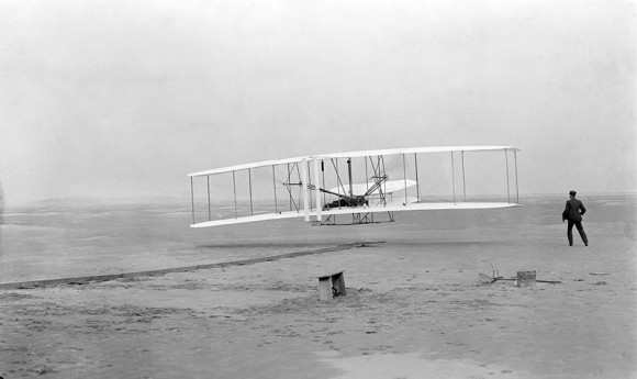 Wright Flyer. Credit: Wikipedia