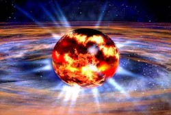 Accretion can cause neutron stars to flare violently