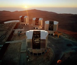 Very Large Telescope Facility.  Credit:  ESO