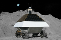 Astrobotic&#039;s plan for lunar rover for Google Lunar X-PRIZE. Credit: Astrobotic Tech