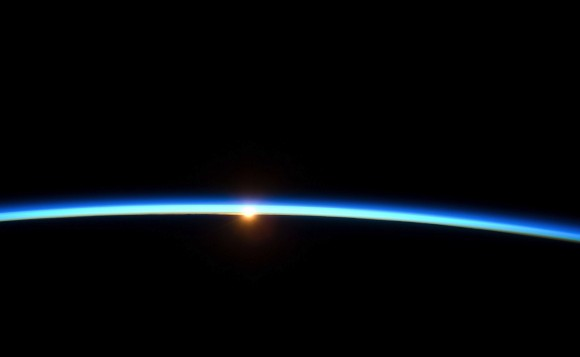 The edge of space. Credit: NASA