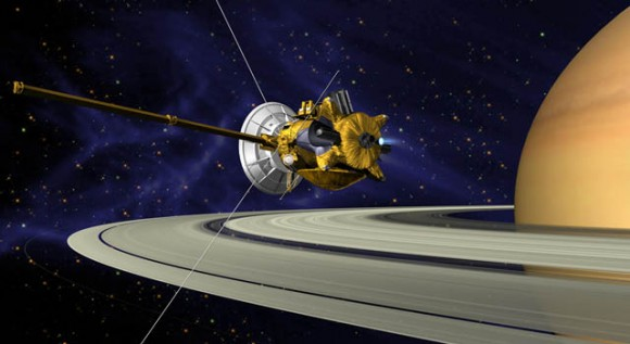 Cassini Will Switch to Back-up Thrusters