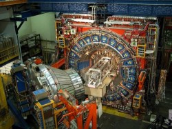 The CDF detector at Fermilab&#39;s Tevatron accelerator (Fermilab)