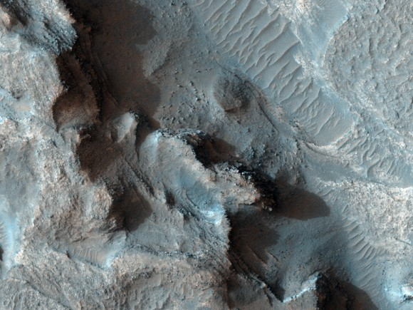 Hellas Basin.  Credit: NASA/JPL/U of AZ