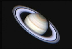 the gas giant Saturn