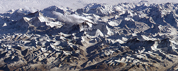 Mt. Everest mosaic.  Credit: OnOrbit.com