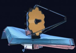 Artist concept of the JWST. Credit: NASA