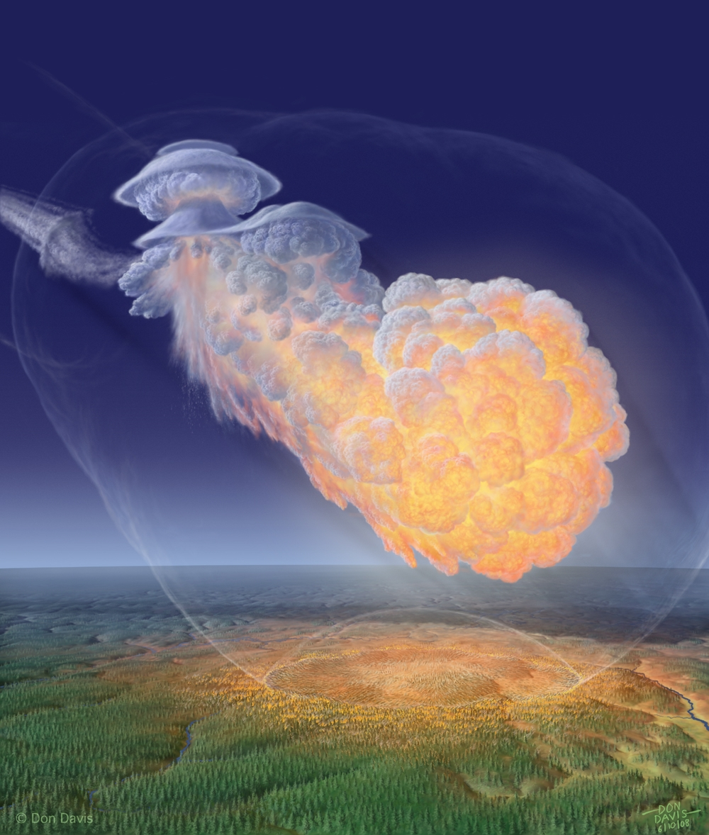 tunguska explosion We celebrate asteroid day on june 30 because it's the anniversary of a 1908 explosion over siberia that killed reindeer and flattened trees.